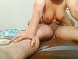 Bhabhi with 10 inch dildo